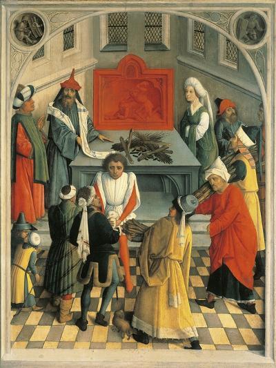 The Sacrifice of Jews--Giclee Print
