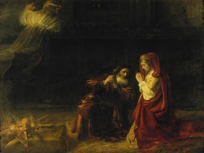 The Sacrifice of Manoah, 1641-Rembrandt van Rijn-Giclee Print