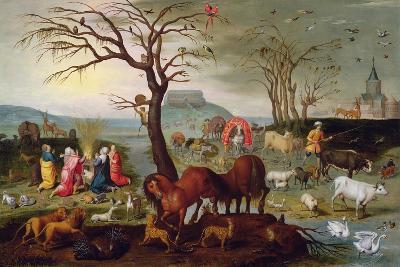 The Sacrifice of Noah-Jacob Bouttats-Giclee Print