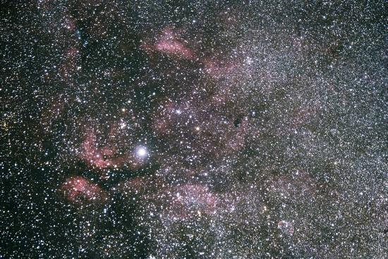 The Sadr Region Of Cygnus, Including IC 1318 And The Crescent Nebula-Mike Cavaroc-Photographic Print