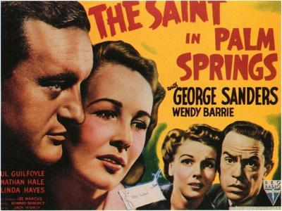 The Saint in Palm Springs, 1941