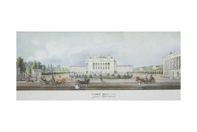 The Saint Petersburg Imperial Bolshoi Kamenny Theatre-Vasily Semyonovich Sadovnikov-Giclee Print