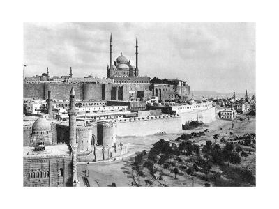 The Saladin Citadel, Cairo, Egypt, C1920S--Giclee Print