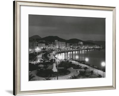 The Salerno Seaside-A. Villani-Framed Photographic Print