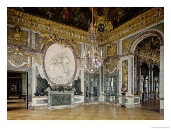 The Salon De La Guerre (War Room) 1678-84-Jules Hardouin Mansart-Giclee Print