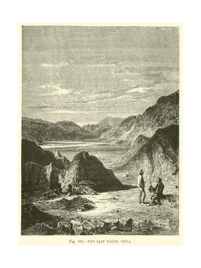 The Salt Range, India--Giclee Print