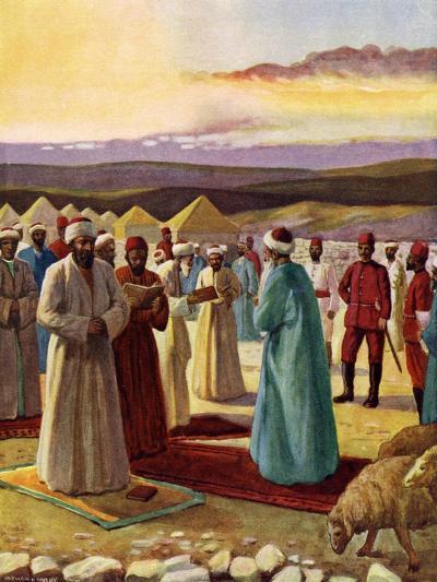 The Samaritan Passover--Giclee Print
