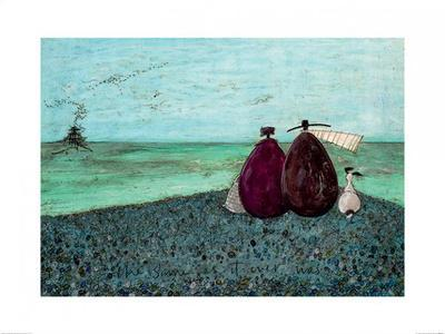 REMEMBERING WHEN WE FIRST MET ART PRINT WITH FRAME OPTIONS OR CANVAS SAM TOFT
