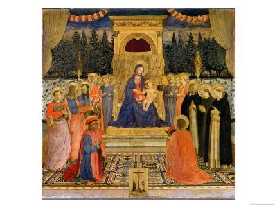 The San Marco Altarpiece, c.1438-40-Fra Angelico-Giclee Print