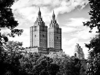 The San Remo Building, Central Park, Manhattan, New York, Black and White Photography-Philippe Hugonnard-Photographic Print