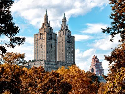 The San Remo Building in the Fall, Central Park, Manhattan, New York, United States-Philippe Hugonnard-Photographic Print