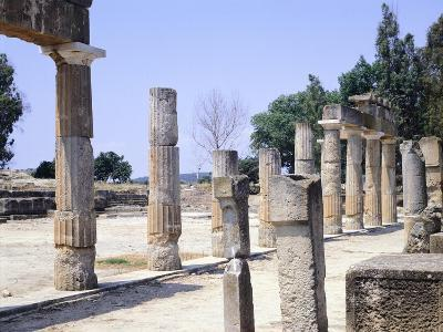 The Sanctuary of Artemis in Brauron--Giclee Print