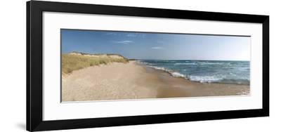 The Sand and the Sea-Monte Nagler-Framed Art Print