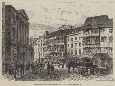 The Sandhill, with the Old Guildhall and the Surtees' House--Giclee Print