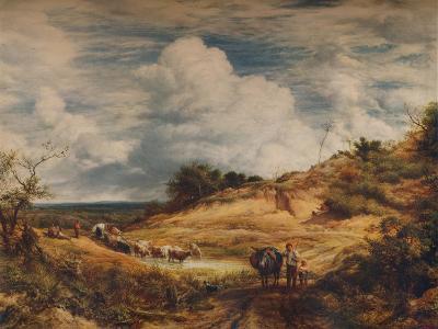 The Sandpits, 1856-John Linnell-Giclee Print
