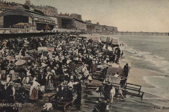 The Sands, Ramsgate--Photographic Print
