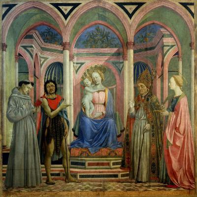 The Santa Lucia De' Magnoli Altarpiece, Ca 1447-Domenico Veneziano-Giclee Print