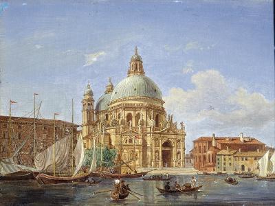 The Santa Maria Della Salute Church, 19th Century-Victor Adam-Giclee Print
