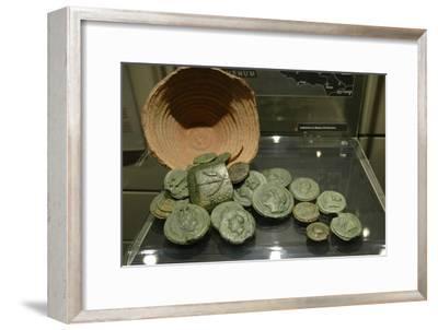 The Santa Marinella coin hoard-Werner Forman-Framed Giclee Print