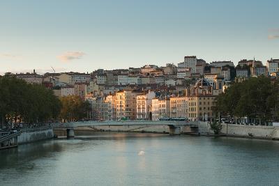 The Saone in Lyon I-Erin Berzel-Photographic Print