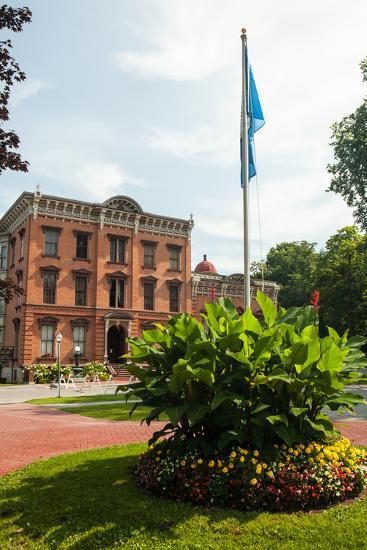 The Saratoga Springs History Museum, Located in the Canfield Casino in Congress Park-Richard Nowitz-Photographic Print
