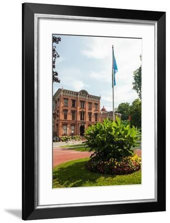 The Saratoga Springs History Museum, Located in the Canfield Casino in Congress Park-Richard Nowitz-Framed Photographic Print