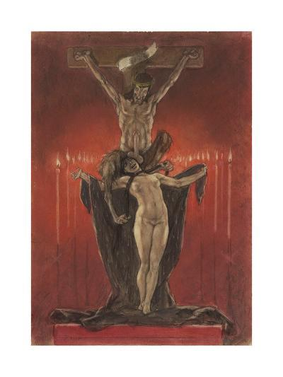 The Satanists (Calvar)-F?licien Rops-Giclee Print