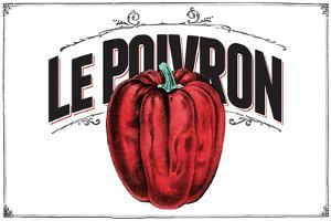 French Produce - Pepper by The Saturday Evening Post