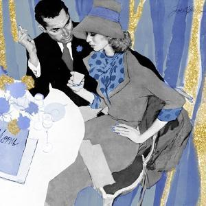 Love Potion - blue treatment by The Saturday Evening Post