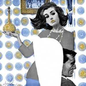 Marriage is Not for Me - blue treatment by The Saturday Evening Post