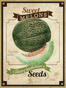 Seed Packet - Melon by The Saturday Evening Post