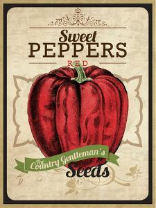 Seed Packet - Pepper by The Saturday Evening Post