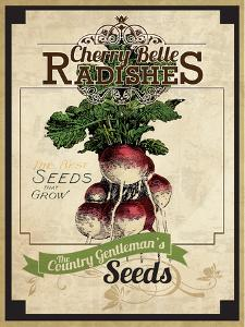 Seed Packet - Radish by The Saturday Evening Post