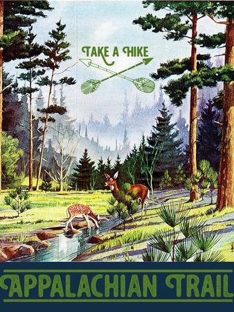 Travel Poster - Appalachian Trail