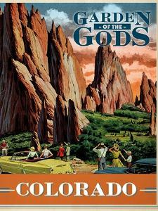Travel Poster - Colorado by The Saturday Evening Post