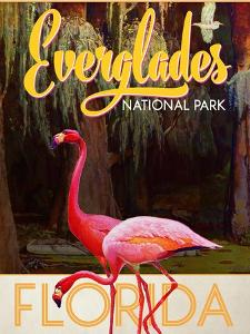 Travel Poster - Everglades by The Saturday Evening Post