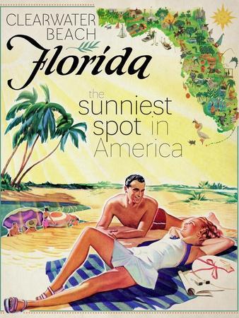 Travel Poster - Florida