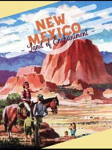 Travel Poster - New Mexico by The Saturday Evening Post