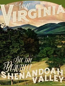 Travel Poster - Virginia by The Saturday Evening Post