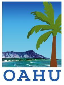Visit Oahu by The Saturday Evening Post