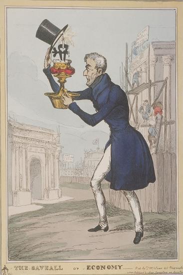 The Saveall, or Economy, 1828-Thomas McLean-Giclee Print
