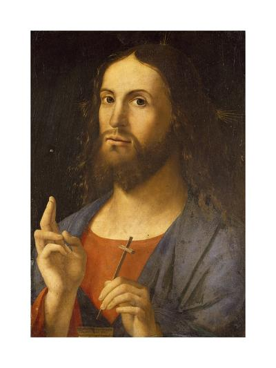 The Saviour Blessing, 1498-Alvise Vivarini-Giclee Print