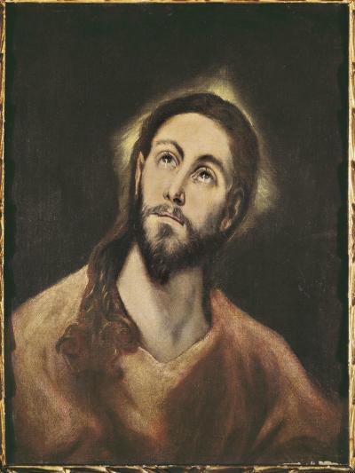 The Saviour-El Greco-Art Print