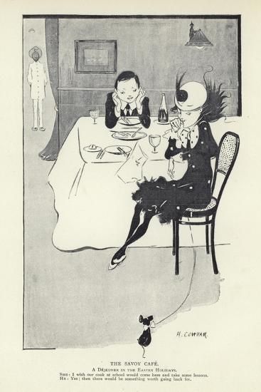 The Savoy Cafe--Giclee Print
