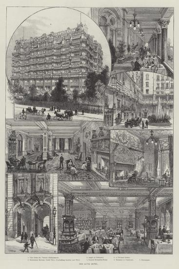 The Savoy Hotel-Frank Watkins-Giclee Print