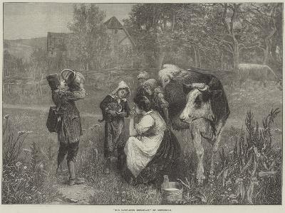 The Savoyard's Breakfast--Giclee Print