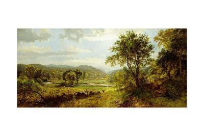 The Saw Mill River-Jasper Francis Cropsey-Giclee Print