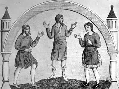 The Saxon Tunica--Giclee Print