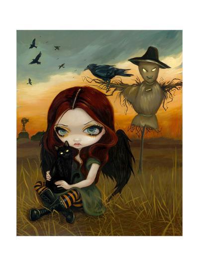 The Scarecrow-Jasmine Becket-Griffith-Art Print