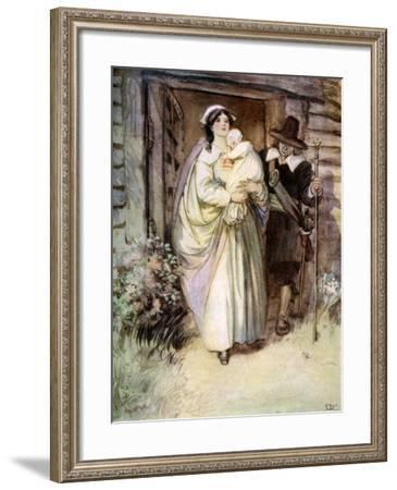The Scarlet Letter, 1923--Framed Giclee Print